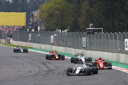 Felipe Massa, Williams FW40, Kimi Raikkonen, Ferrari SF70H, Lance Stroll, Williams FW40, Daniel Ricc