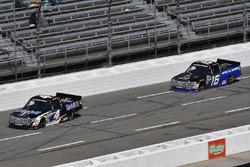 Todd Gilliland, Kyle Busch Motorsports, Toyota Tundra Mobil 1, Brett Moffitt, Hattori Racing Enterprises, Toyota Tundra AISIN Group