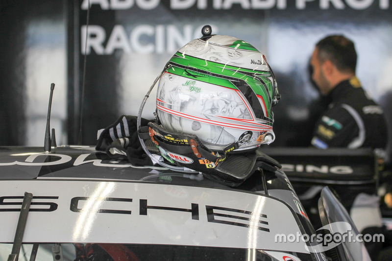 Khaled Al Qubaisi, Proton Racing helmet