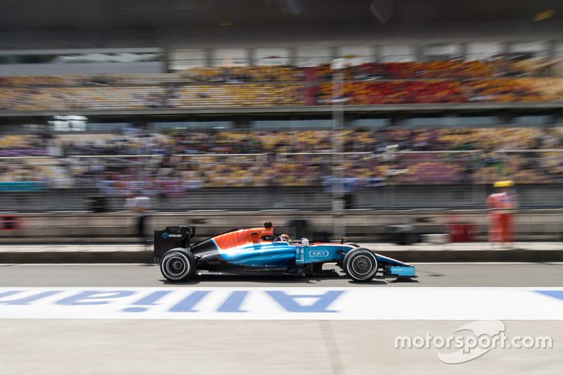 Pascal Wehrlein-Manor F1 team