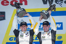 Ganadores de la carrera Antonio García, Jan Magnussen, Corvette Racing
