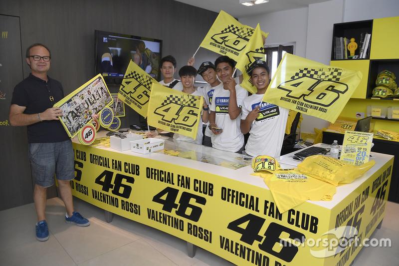 Participants of the Yamaha VR46 Master Camp