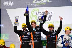 Победители в классе LMP2: G-Drive Racing, Роман Русинов, Алекс Брандл и Уилл Стивенс