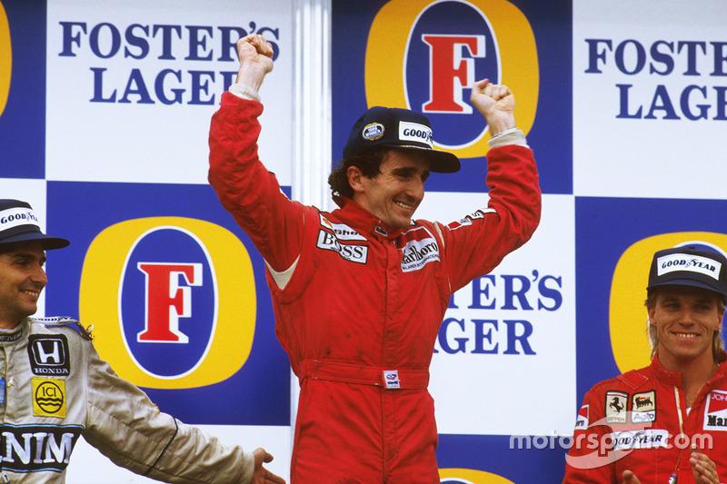 1986: Ален Прост