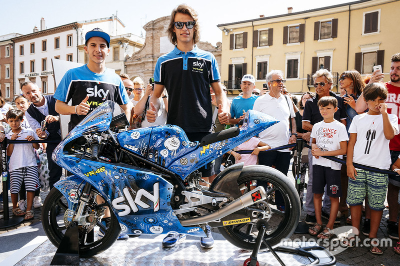 Andrea Migno, Sky Racing Team VR46, Nicolo Bulega, Sky Racing Team VR46 svelano la nuova livrea by Laurina Paperina
