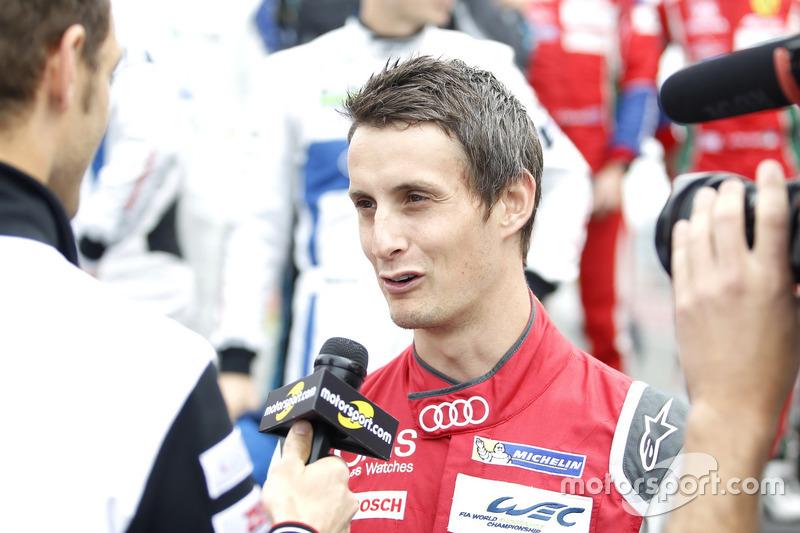 #8 Audi Sport Team Joest Audi R18 e-tron quattro: Олівер Джарвіс