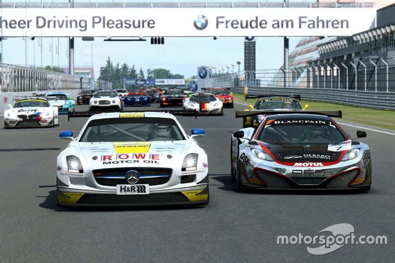 RaceRoom, Mercedes SLS GT3 ve McLaren MP4-12C GT3