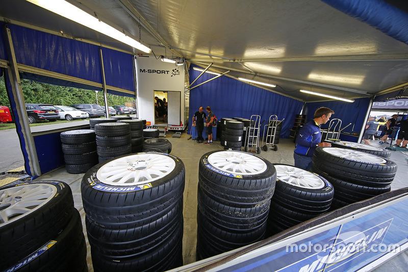 M-Sport Ford Fiesta WRC, pneumatici Michelin
