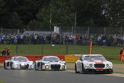 #30 Team Parker Racing, Bentley Continental GT3: Chris Harris, Derek Pierce, Carl Rosenblad, David Perel