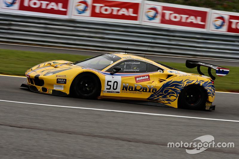 #50 AF Corse - Spirit Of Race Ferrari 488 GT3: Pasin Lathouras, Michele Rugolo, Alessandro Pier Guidi