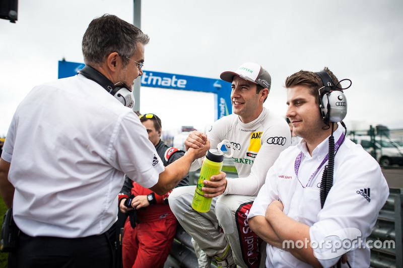 Mike Rockenfeller, Audi Sport Team Phoenix, Audi RS 5 DTM con Dieter Gass, Capo DTM Audi Sport