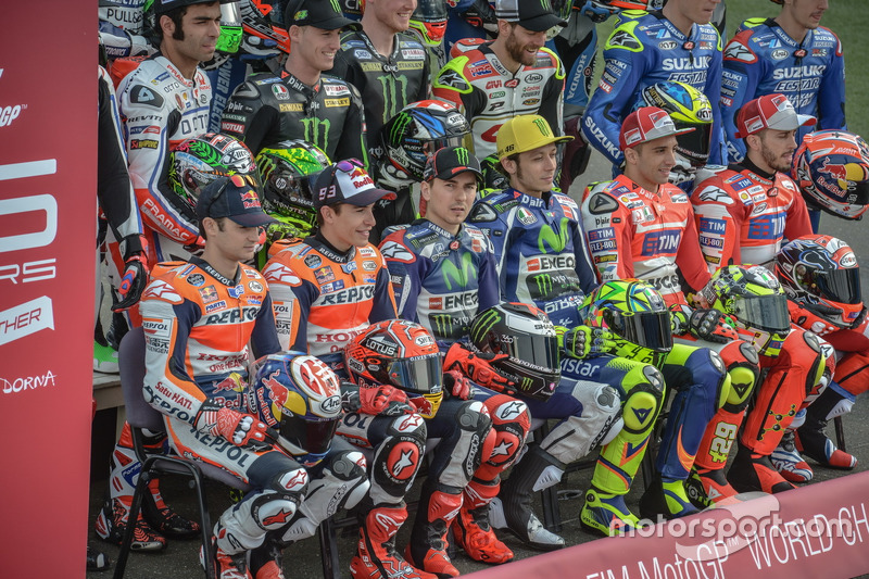 All riders 2016
