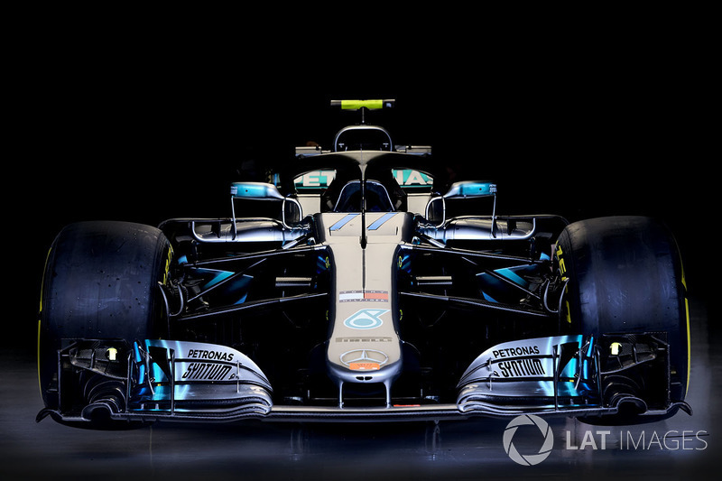 Technical detail of the Valtteri Bottas, Mercedes AMG F1 W09