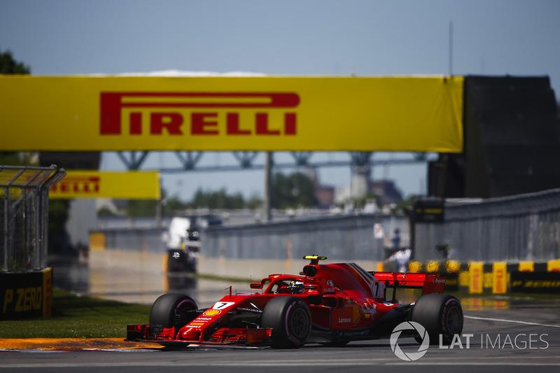 6. Kimi Raikkonen, Ferrari SF71H