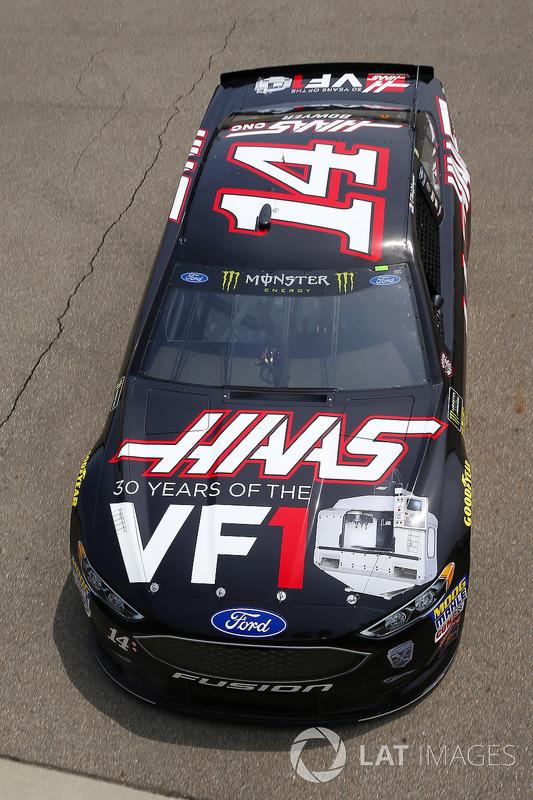 Clint Bowyer, Stewart-Haas Racing, Chevrolet Camaro Haas 30 Years of the VF1