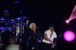 Christina Aguilera, in concert