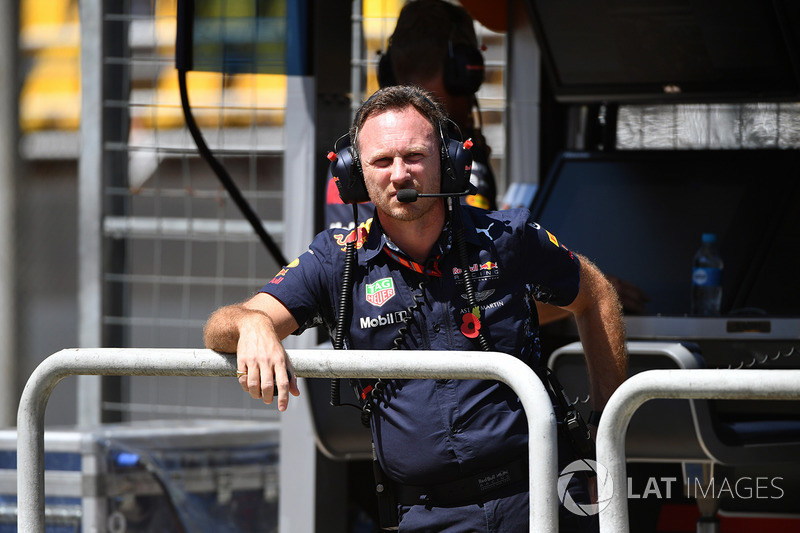 Christian Horner, director de Red Bull Racing Team