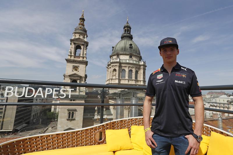 Max Verstappen, Red Bull Racing posa para una foto
