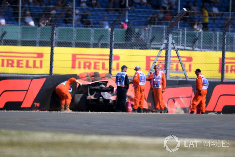 GP Inggris Raya - Brendon Hartley (FP3)