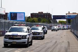 Los pilotos de la policía de New York.