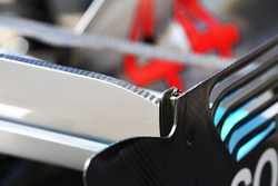 Mercedes-AMG F1 W09 detalle del ala trasera