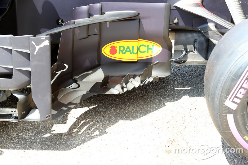 Detalle del Red Bull Racing RB14