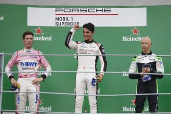 Michael Ammermüller, BWT Lechner Racing, Thomas Preining, BWT Lechner Racing, Mattia Drudi, Dinamic Motorsport
