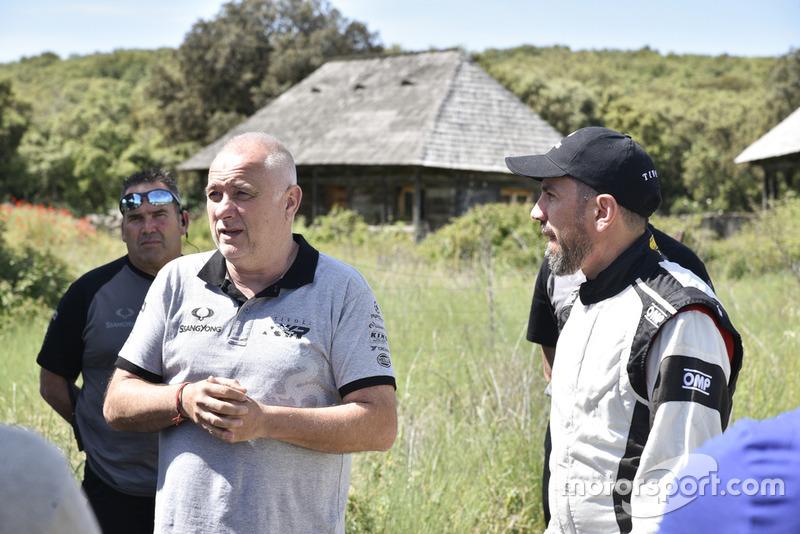 Javier Herrador y Diego Vallejo, SsangYong DKR