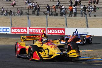 Райан Хантер-Рей, Andretti Autosport Honda, Скотт Диксон, Chip Ganassi Racing Honda