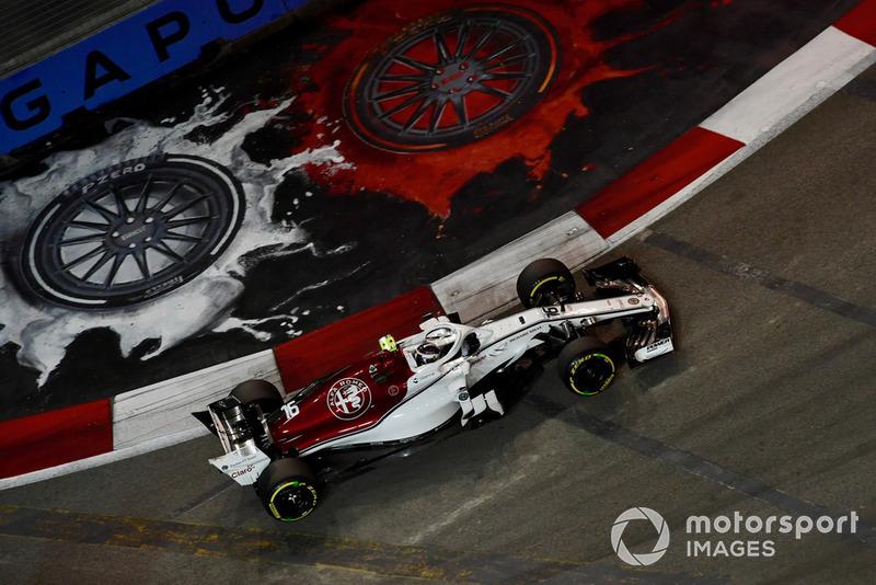 16 місце — Шарль Леклер, Sauber — 15