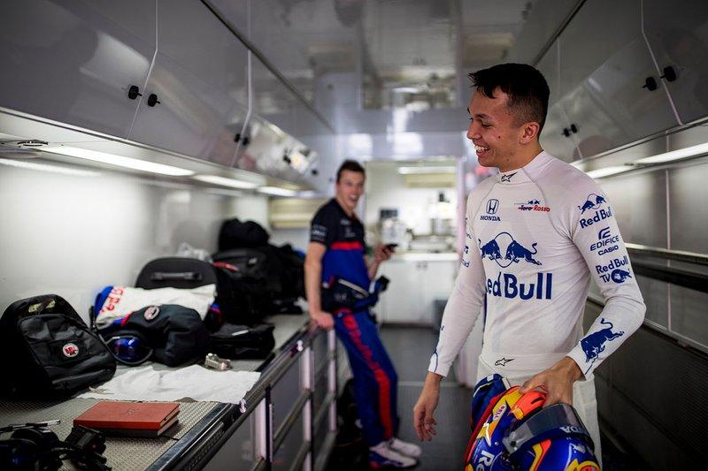 Алекс Албон, Scuderia Toro Rosso
