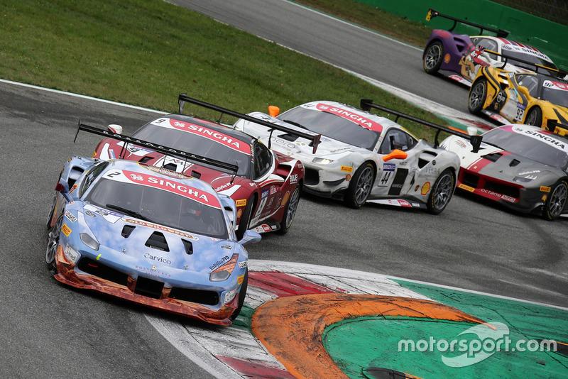 #2 Ferrari 488, Rossocorsa: David Fumanelli