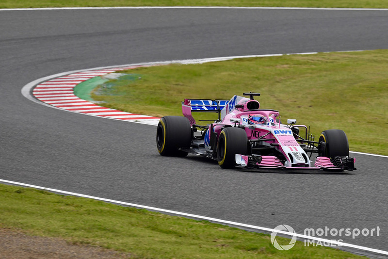 9 місце — Серхіо Перес, Force India. Умовний бал — 12,08