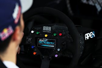eROC Simulator is used during previews to the Race of Champions