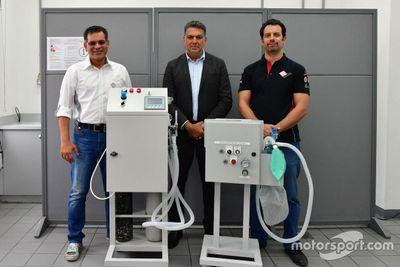 أجهزة التنفس من إنتاج حلبة البحرين الدولية