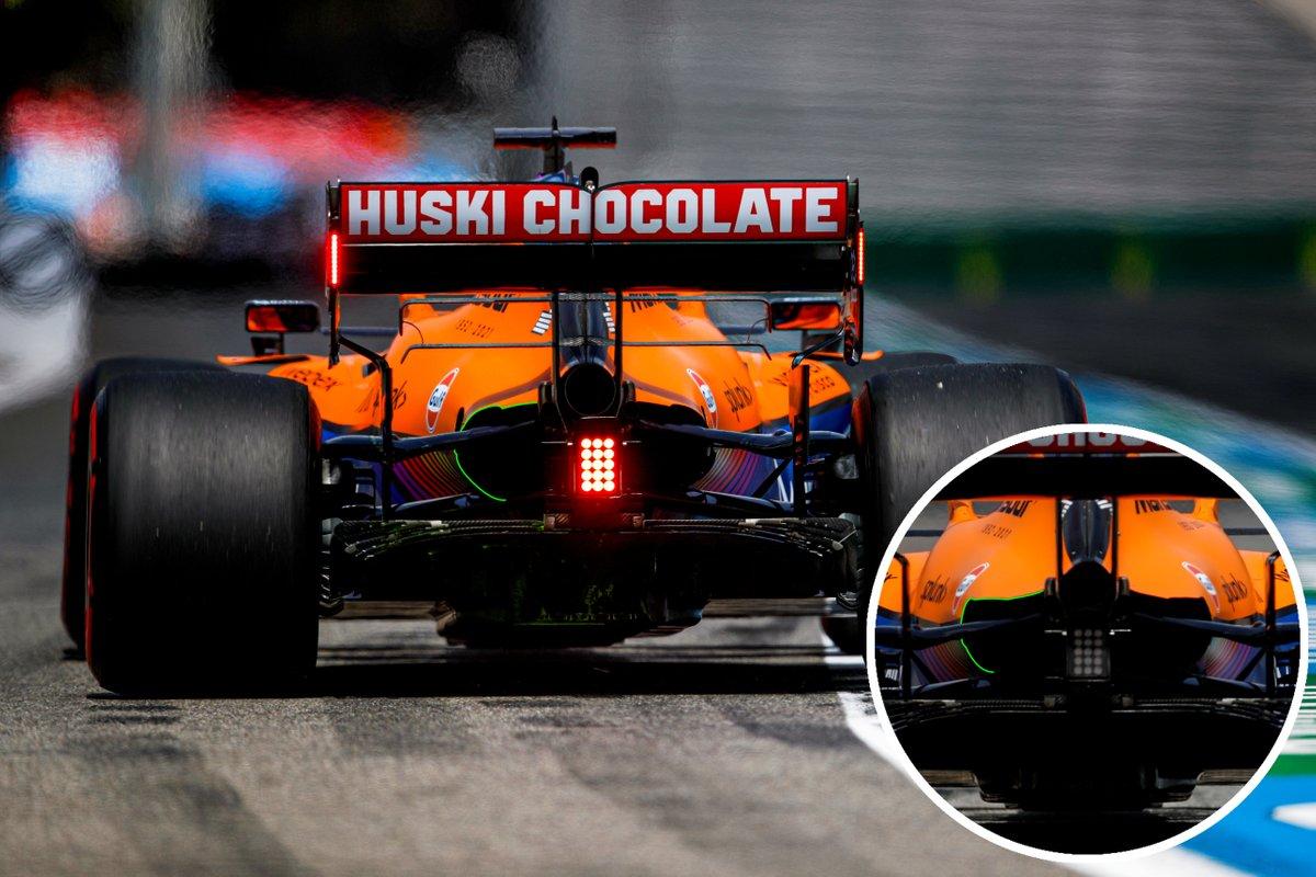 McLaren MCL35M rear cooling outlet