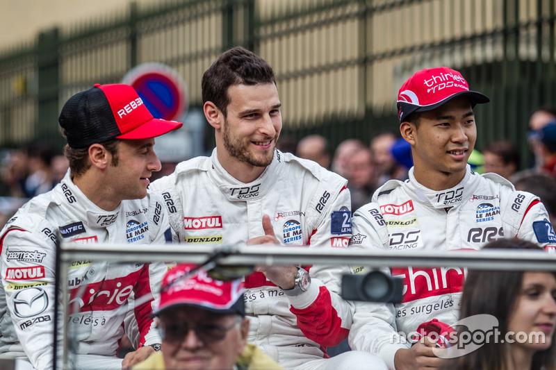 #46 Thiriet by TDS Racing Oreca 05 Nissan: Mathias Beche, Pierre Thiriet, Ryo Hirakawa
