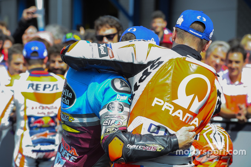 Scott Redding, Pramac Racing ve Jack Miller, Marc VDS Racing Honda