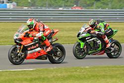 TomSykes, Kawasaki Racing Team & Davide Giugliano, Aruba.IT Racing - Ducati