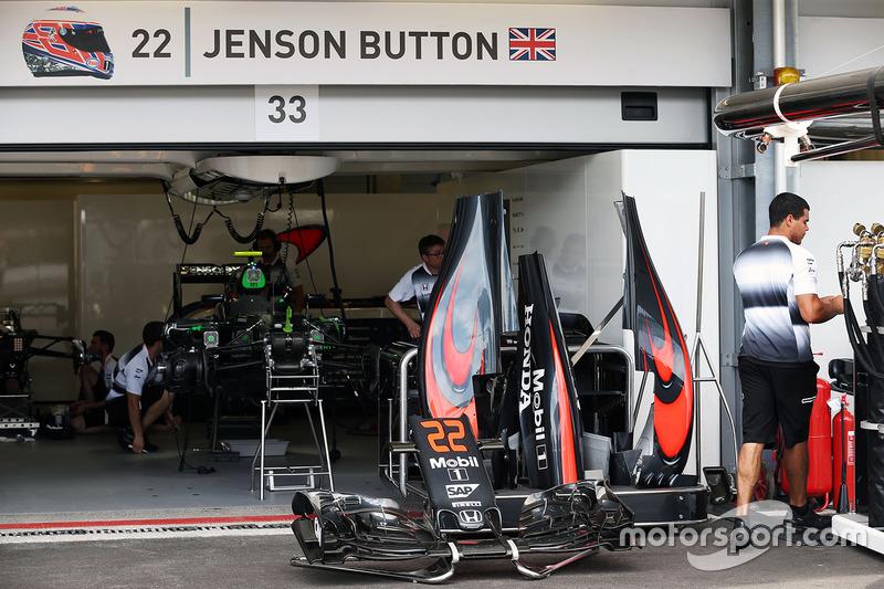 McLaren MP4-31 de Jenson Button