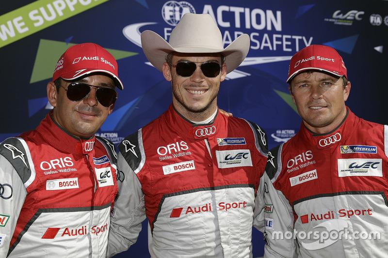 Benoît Tréluyer, André Lotterer, Marcel Fässler, Audi Sport Team Joest