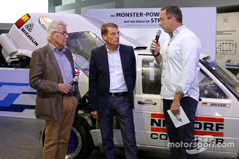 Rainer Braun, Jochi Kleint, Patrick Simon at the Opening event