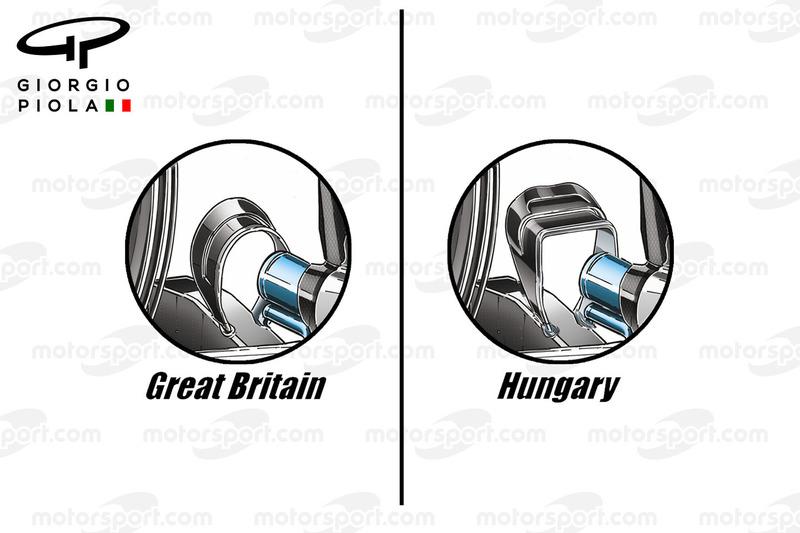 Mercedes F1 W07: Monkey-Seat, Vergleich