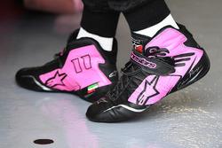 Гоночные ботинки Серхио Переса, Sahara Force India