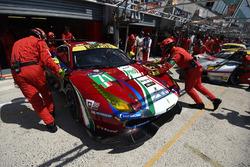 #71 AF Corse Ferrari 488 GTE: Давіде Рігон, Сем Бьорд, Мігель Моліна
