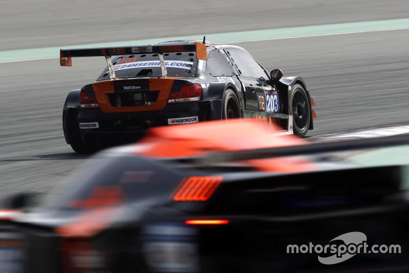 #203 Vortex V8 GC Automobile GC 10 V8: Günther Deutsch, Marco Deutsch, Mathieu Pontais, Kurt Thiel