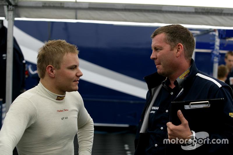 Valtteri Bottas, Team Motopark with his engineer Frank Funke