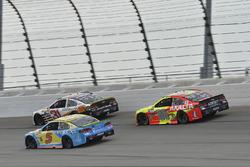 Ryan Newman, Richard Childress Racing Chevrolet, Kasey Kahne, Hendrick Motorsports Chevrolet, Dale Earnhardt Jr., Hendrick Motorsports Chevrolet