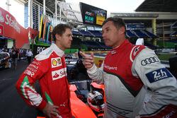 Sebastian Vettel, Tom Kristensen