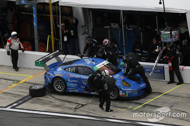 #991 TRG Porsche 911 GT3 R: Santiago Creel, Wolf Henzler, Jan Heylen, Mike Hedlund, Timothy Pappas,